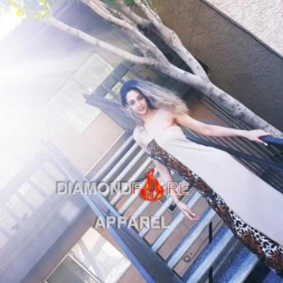 Diamondfire Apparel Dresses & Skirts - Handmade strapless fashion bandeau dress